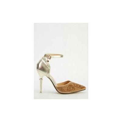 Glitter Heels - Gold