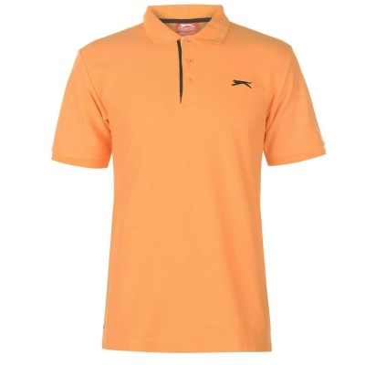 Slaz Plain Polo - Orange