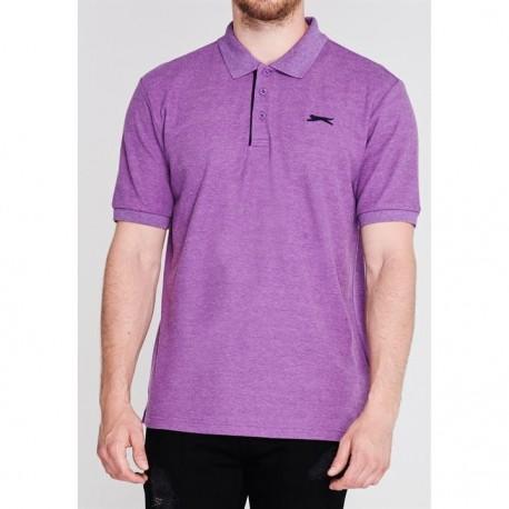 Slaz Plain Polo - Bright   Purple