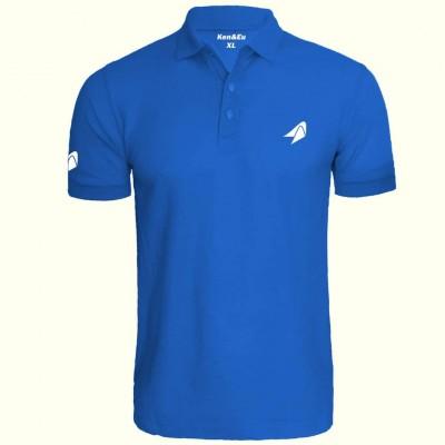 KNU  Polo Shirt- Blue