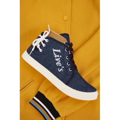 Live's Sneakers - Denim