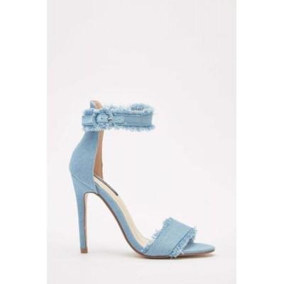 Denin Heels-Light Blue