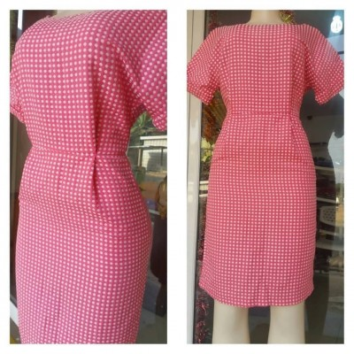 Dotted Baby Pink Dress