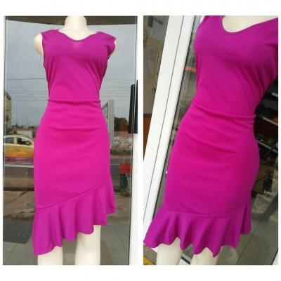 Classay Dress -Pink