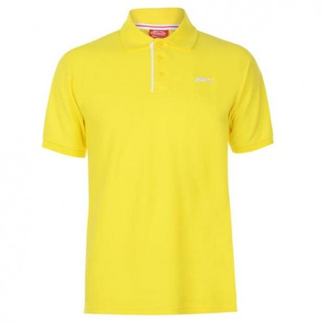 Slaz Plain Polo - Yellow