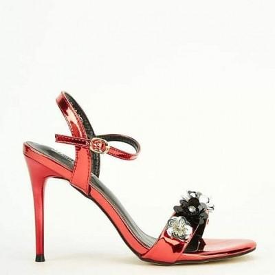 Red Sandals Heel