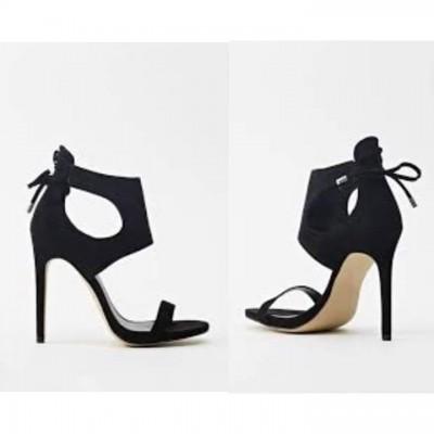Black Sandals Heel