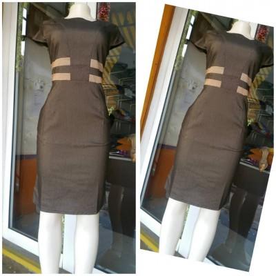 Pencil Dress -Dark Brown