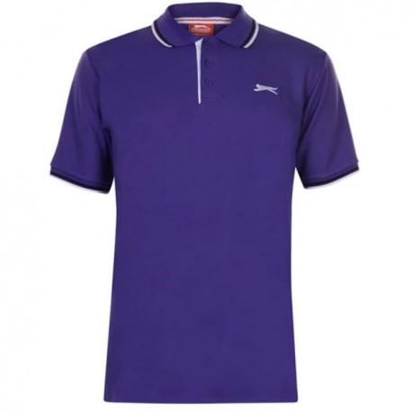 Slaz Plain Polo - Purple