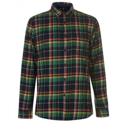 PC Shirt LS - Green Multicolor
