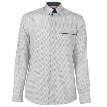 PC Shirt LS - White/Ash